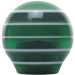 Custom Green Super Stripe Custom Shift Knob