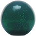 Custom Green Old Skool Series Custom Shift Knob Translucent with Metal Flake