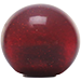 Custom Red Old Skool Series Custom Shift Knob Translucent with Metal Flake