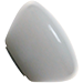 Custom White Retro Series Custom Shift Knob Opaque